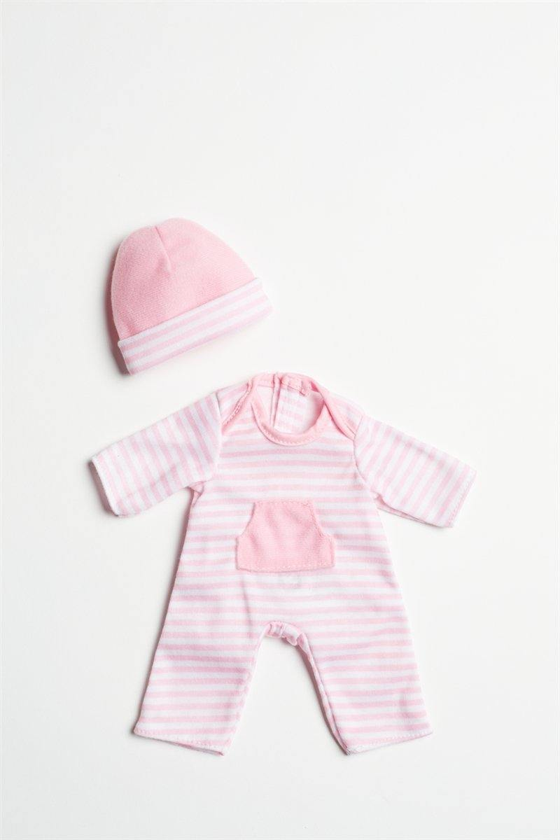 "Light Pink Romper for 9"" - 11"" Dolls"