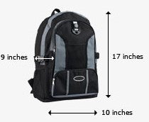 United Personal Item Baggage Dimensions