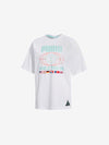DIAMOND X PUMA T-SHIRT WHITE