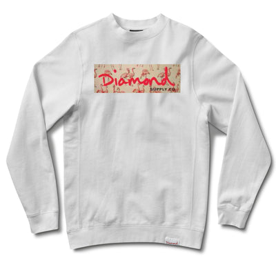 FLAMINGO BOX LOGO CREWNECK