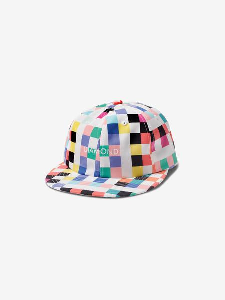 90000a950b70a PIXEL 6-PANEL UNSTRUCTURED SNAPBACK
