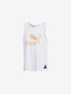 DIAMOND X PUMA TANK TOP WHITE