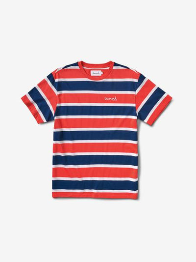 MINI OG SCRIPT STRIPED TEE