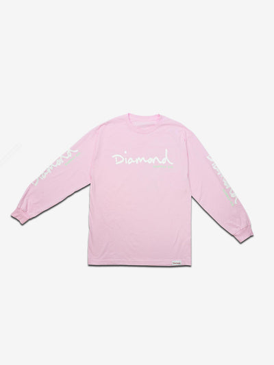 OG SCRIPT LONG SLEEVE T-SHIRT