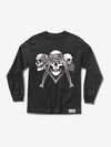 SECRETS DIE LONG SLEEVE T-SHIRT