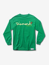 PARADISE OG SCRIPT LONG SLEEVE T-SHIRT