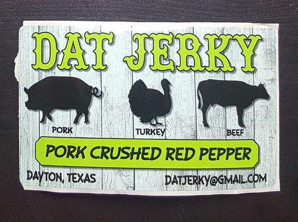 Pork Crushed Red Pepper Jerky