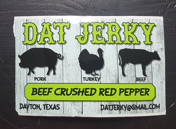 BEEF CRUSHED RED PEPPER JERKY