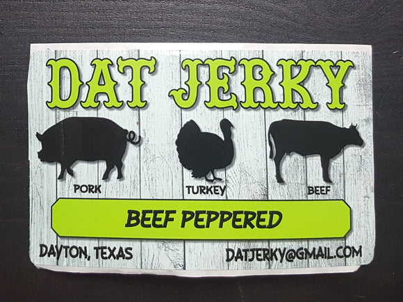 BEEF PEPPERED JERKY