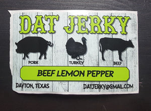 BEEF LEMON PEPPER JERKY
