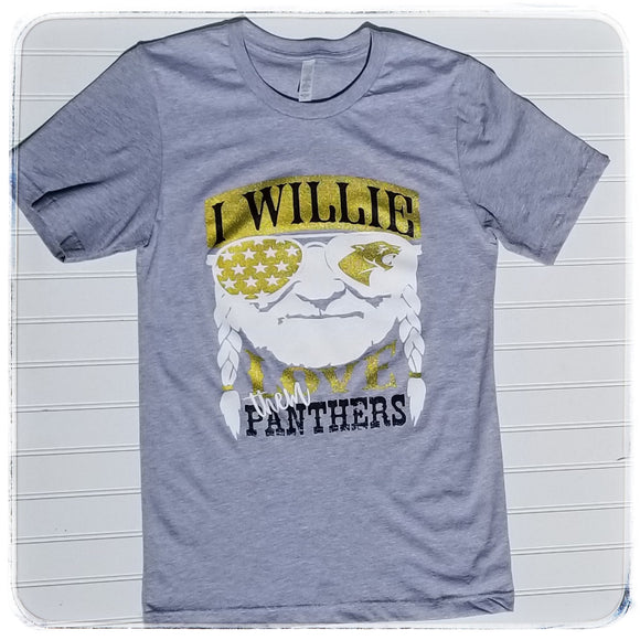Willie love them Panthers
