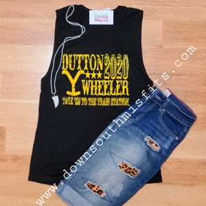 Dutton Wheeler 2020 muscle tank