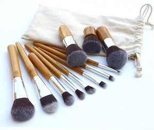 10 Piece Make up Brush Set