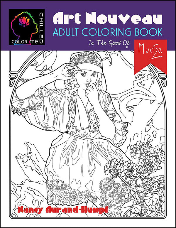 - Color Me Chilled Adult Coloring Books