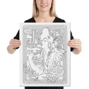 Color Me Chilled Canvas Prints 16×20 Mucha - Job 1897