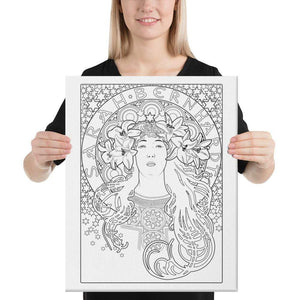 Color Me Chilled Canvas Prints 16×20 Sarah Bernhardt