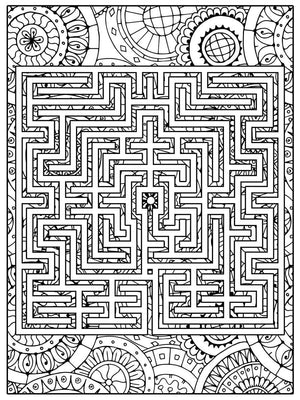 Color Me Chilled Canvas Prints St Omer Boho Labyrinth
