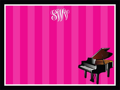 Piano coolcorks 12 x 12 adhesive back - $45 Hot Pink