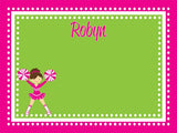 Cheerleader Cork Board coolcorks 24 x 18 adhesive back - $80 Hot Pink/Lime