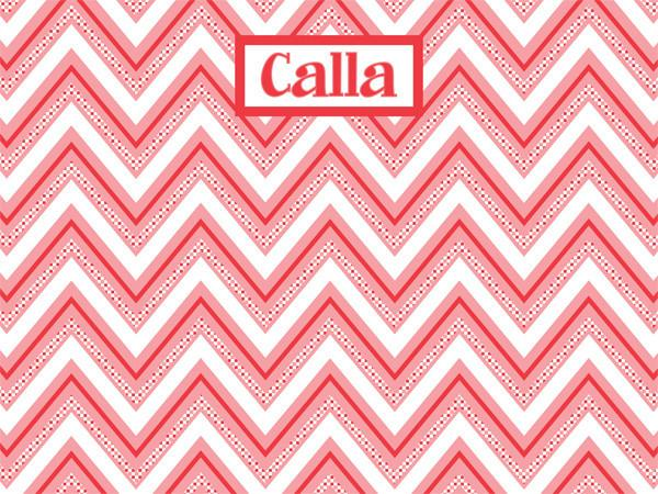 custom cork bulletin board in coral chevron with checkered pattern for home decor