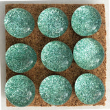 mint glitter push pins coolcorks