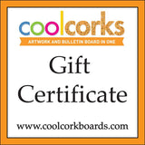 Gift Certificates coolcorks 24 x 18 adhesive back - $80