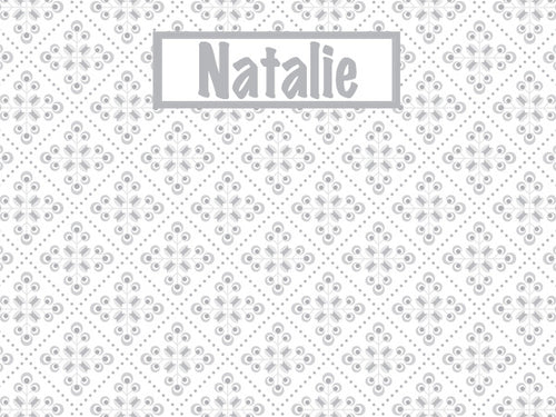 Italian Tiles Pattern Cork Board