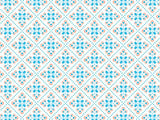 Italian Tiles Pattern coolcorks 12 x 12 adhesive back - $45 Turquoise/Melon