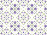 Italian Tiles Pattern coolcorks 12 x 12 adhesive back - $45 Purple/Lime