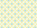 Italian Tiles Pattern coolcorks 12 x 12 adhesive back - $45 Yellow/Green
