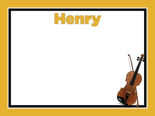 Violin Theme Cork Board