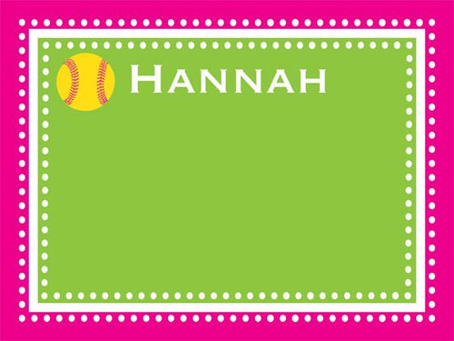 Softball Dots Border Cork Board coolcorks 12 x 12 adhesive back - $45 Hot Pink/Lime