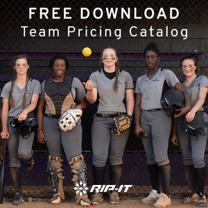 Softball Team Pricing Catalog