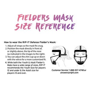 Original Defense Softball Fielder's Mask