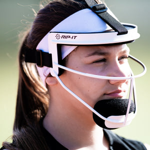 Ponytail Strap for Softball Face Mask