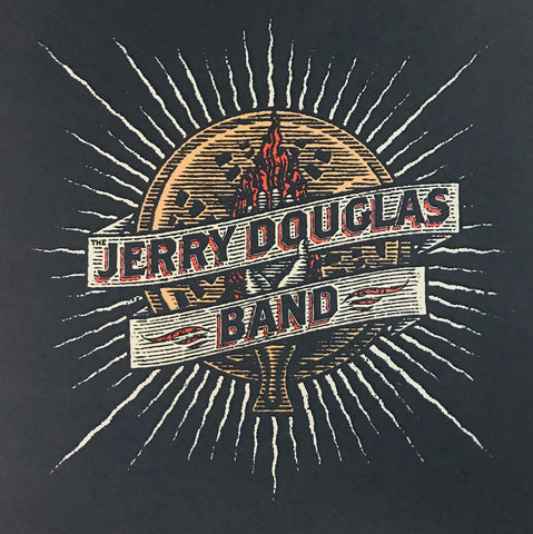 The Jerry Douglas Band - Flaming Hand Poster