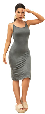 Dress, Casual ,Grey, 2020