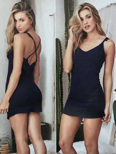 Navy Sleep Dress