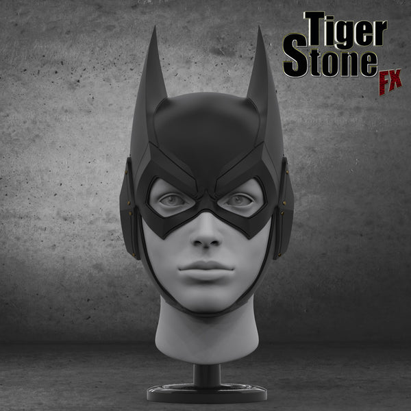 Finished sculpt of our Arkham Knight Batgirl cowl