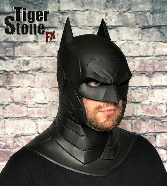 Our finished armored Batman cowl
