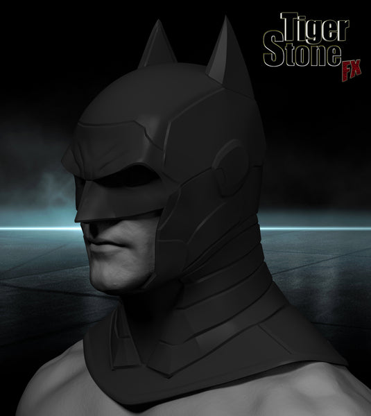 Armored Batman cowl - update