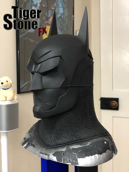 Custom commission update of our version of the Batman Ninja cowl