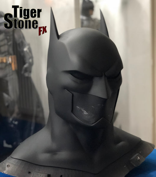 Currently working on: Our smaller Justice League War / Animated movies Batman cowl