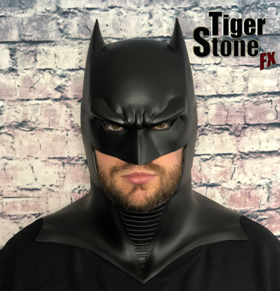 GD Batman cowl - by Tiger Stone FX (front)