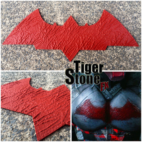 Arkham Knight Jason Todd Red Hood inspired, textured chest emblem - (can be made in various colors)