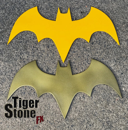 Batgirl inspired chest emblem #2  - Yellow or Gold but can be made in various other colors too