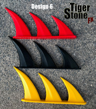 Fins for your gauntlets or gloves - Can be made in various colors