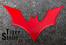 Batman Beyond inspired chest emblem (can be made in various colors)