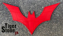 Custom design Batman Beyond inspired chest emblem (can be made in various colors)