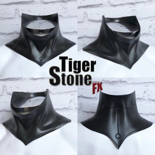 Cosplay neck piece - neck guard/armor, neck seal for your cowl or helmet - #3